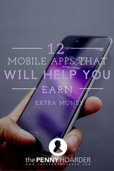 Wouldn't it be awesome if your cell phone paid you? Instead of just getting a bill every month, you'd get a check for using your phone? It's actually not as ridiculous as it sounds. There are actually a number of apps that will pay you to download them. - The Penny Hoarder - http://www.thepennyhoarder.com/12-mobile-apps-that-will-help-you-earn-extra-money/ make money for christmas #christmas
