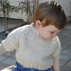 Free Knitting Pattern - Toddler & Children's Clothes: Dynamic Duo Sweaters