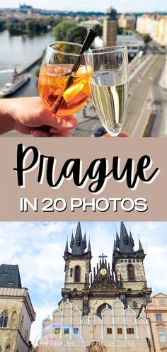 Prague is a charming city with colorful baroque buildings, Gothic churches and a medieval Astronomical Clock. Here are 20 photos to inspire you to visit Prague! Travel Around The World, Around The Worlds, Visit Prague, Prague Travel, The Republic, Travel Guides, Big Ben, Baroque, Adventure Travel
