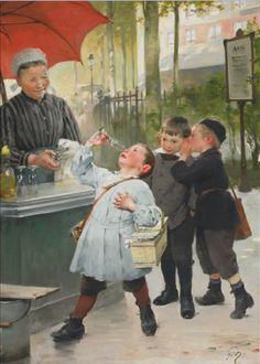 henry jules jean geoffroy images | henry jules jean geoffroy french 1853 1924 the lemonade stand