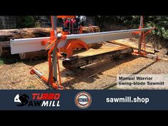 MANUAL WARRIOR SWING-BLADE SAWMILL DESCRIPTION INCLUDES SPECS VIDEO MANUALWARRIOR SWING-BLADE SAWMILL DESCRIPTION Our manual sawmills offer a truly portable option. The Honda engine takes only a few minutes to remove from the carriage. The sawmill then can be carried into the bush and setup over the log as it lays. • Grilled Pork, Pork Belly, Specs, Blade, Honda, Manual, Engineering, Recipe, Outdoor Decor