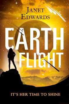 Earth Flight (Earth Girl #3) by Janet Edwards | August 14, 2014 | Harper Voyager #YA Science Fiction