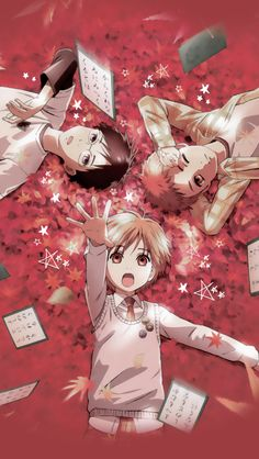Chihayafuru - the only anime that gets you obsessed with a Japanese competition you know absolutely nothing about!