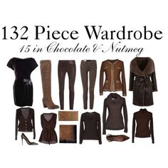 """15 in Chocolate & Nutmeg"" by charlotte-mcfarlane on Polyvore"