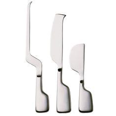 Cheese knives, set of 3     Manufacturer: Hackman     Design: Eva Moritz, Peter Moritz
