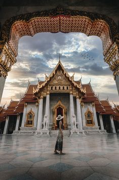 Marble Temple, Bangkok, Thailand Love Dream, Bangkok Thailand, One Light, Big Ben, Temple, Marble, Building, Travel, Construction
