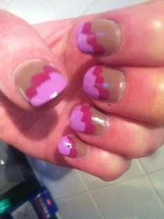 Nails. Love this so easy to do and looks good.