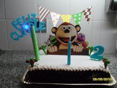 MINI-BANDERIN PARA DECORAR LA TORTA!! #bithday #banderin #party #bubba Birthday Candles, Mini, Cake, Desserts, Food, Food Cakes, Tailgate Desserts, Deserts, Kuchen