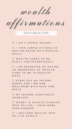 money manifesting affirmations    soyvirgo.com Live For Yourself, Finding Yourself, What Is Law, Attract Money, Give It To Me, Let It Be, Manifesting Money, Single Parenting, Financial Goals