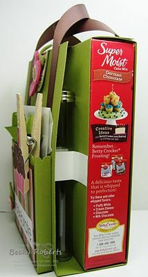 Cake Mix Gift Idea This is so great... give the gift of a decorated cake without actually making or buying a cake.