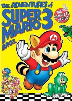 """The Adventures of Super Mario Bros. 3"" The Complete Series DVD (Shout! Factory)"