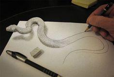 28 Astonishing Examples of 3D Pencil Art - BlazePress