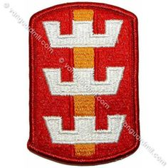 Army Patch: 130th Engineer Brigade - color