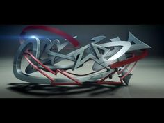 Create 3D Graffiti with 3DS Max - Video Tutorial - YouTube