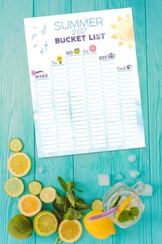 How will you spend your precious summer days before heading back to school? Here's a free printable bucket list worksheet to help you map out the final days of summer so you can make them EPIC. Back To School Hacks, Going Back To School, School Ideas, Summer Bucket Lists, Free Printables, Final Days, Summer Days, How To Make, Blog