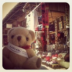 The #KaplanBear is now buying some #souvenirs in #Kruja village in the #mountains of #Albania, outside #Tirana. Any suggestions on what should he buy? by KIC Pathways - University Preparation Courses, via Flickr