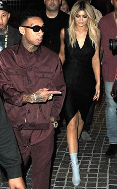 Tyga and Kylie Jenner aka Kyga, stepped out for a stroll in NYC