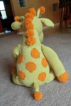 Giraffe Knitting Patterns