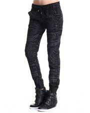 Pants - Bandana Print Joggers