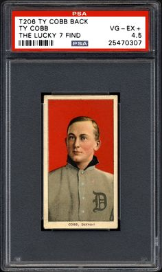 """Family stumbles upon vintage Ty Cobb baseball cards in an old paper bag. 