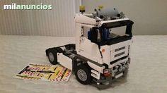 LEGO TECHNIC 8258 CAMION CORTO MOC BLANC - foto 1