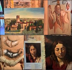 Art lessons for Christmas holidays in Italy