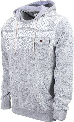 Vans Flurry Hoodie - lunar rock heather - Men's Clothing > Hoodies & Sweaters > Hoodies > Pullover Hoodies