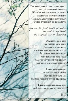 Winter love. Amazing Poems, Best Poems, Winter Love, Chapped Lips, Thoughts, Words, Cracked Lips, Horse, Ideas