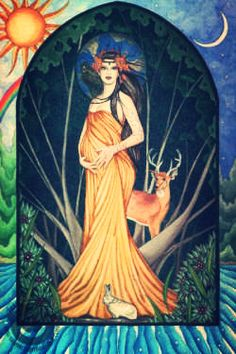 Blessed Imbolc! First day of a new week of a new month! Last quarter of the Moon and Saint Brigit's Day! Wow how many things to honor today! So the Wheel of the Year today clicks. We are half…