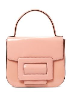 Mabel Patent Leather Satchel by Orla Kiely at Gilt