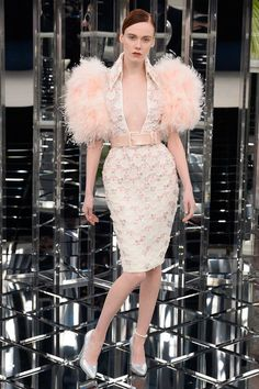 See the complete Chanel Spring 2017 Couture collection. This is craymazing. I seriously need someone to wear this in Cannes.