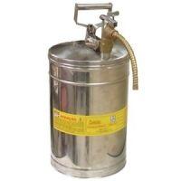 Container R7 para transferir líquidos  Container R7 para transferir líquidos indicado para transferir o inflamável ou combustível em orifícios estreitos. Para isso possui mangueira flexível para direcionar o líquido.