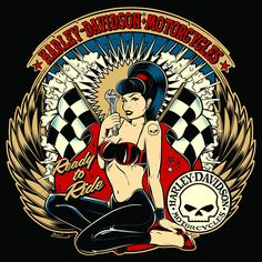 Harley-Davidson designs for differents customers - Copyright David Vicente © 2016 - All rights reserved - Please do not reproduce without the expressed written consent of David Vicente Harley Davidson Logo, Harley Davidson Kunst, Harley Davidson Images, Harley Davidson Wallpaper, Harley Davidson Motorcycles, Tattoo Tradicional, Harley Bikes, Sad Wallpaper, Retro Images