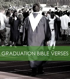 10 Bible verses to help inspire and motivate the new graduate in achieving and succeeding in their new stage in life. Graduation Open Houses, Graduation 2016, Graduation Celebration, Graduation Cards, High School Graduation Announcements, Graduation Bible Verses, Graduation Quotes, Senior Quotes, Graduation Gifts