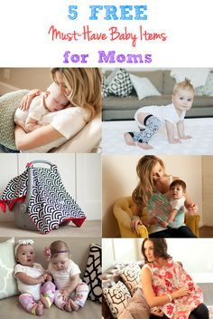 5 FREE Must-Have Baby Items for Moms