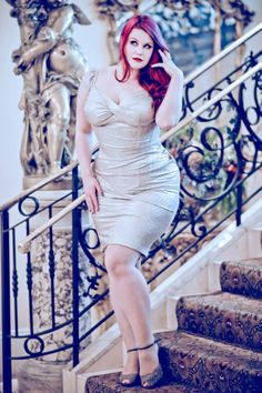 Plus Size model Ruby Roxx Beautiful Curves, Big And Beautiful, Beautiful Women, Curvy Fashion, Plus Size Fashion, Chubby Girl, Plus Size Beauty, Plus Size Model, Looking For Women