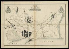 Plànol topogràfic, 1855. - Arxiu Cerdà - Any Cerdà