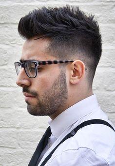 20 Modern Faux Hawk Aka Fohawk Hairstyles Keep It Even More - faux hawk haircuts for men indian men hairstyle Trending Hairstyles For Men, Mohawk Hairstyles Men, Cool Hairstyles For Men, Haircuts For Men, Hairstyle Men, Hairstyle Ideas, Fohawk Haircut, Fade Haircut, Hair And Beard Styles