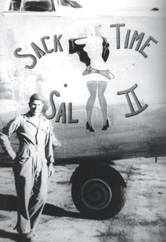 Sack Time Sal II, WWII era, from Hawaii.gov WWII aircraft gallery