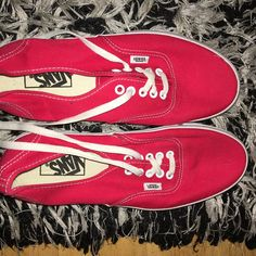 91f4d048884 Brand new red vans Size in picture Price  24 (open to offers) Brand New