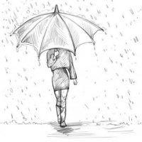 maedchen-mit-regenschirm-zeichnen-dekoking-com