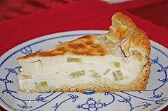Rhabarber-Schmand-Kuchen (Rezept mit Bild) von BieneEmsland | Chefkoch.de
