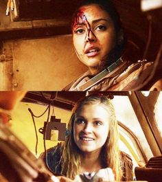 When Clarke met #RavenReyes. #The100