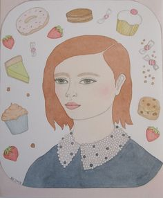 Portrait with Cakes by Kitty Cooper