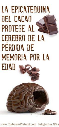 El Chocolate Protege los Recuerdos - Club Salud Natural #cacao #chocolate