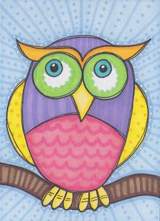 sunkissed corner: Girls in Outer Space and Whimsical Owls Swaps