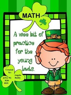 You've Taught the Lessons - Time For Some Review...St. Patrick's Style!A Wee Bit of Practice In:Place ValueRounding Addition of Large NumbersSubtraction of Large NumbersRelating Multiplication & DivisionPractice Multiplication & DivisionMultiple Step Word ProblemsComparingNaming Fraction PartsFraction PracticeFractional Parts of Whole NumbersComparing FractionsWord Problems & Writing Number SentencesWhich Operation Do I Use?Distances on a MapGeometric ShapesPerimeter & ...
