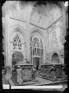 Catedral: Capilla de D Álvaro de Luna, sepulcros de D Álvaro de Luna y Dª Juana Pimentel