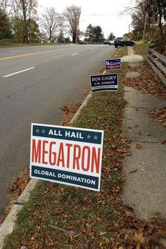 Megatron/Starscream 2012!!!