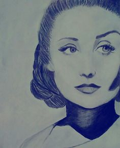 Fun drawing of a retro chic. High Contrast. #art #drawing #graphitepencil #retro #fun #inspiration #drawing inspiration